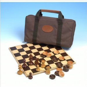 Carrom 902 Travel Chess and Checkers Bag by Carrom
