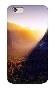 Diseño de alto impacto suciedad/a prueba de golpes para iphone 6(Yosemite Falls During Sunrise)