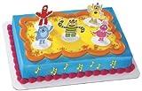 Yo Gabba Gabba Dance Party Cake Topper Set