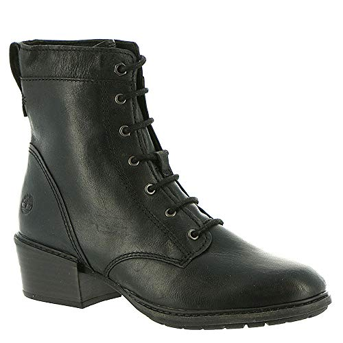 Black Bay Womens Full Lace Mid Sutherlin Boot Grain Timberland RzpqwBYw
