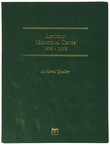 Littleton 1959-1998 Lincoln Memorial Cent Folder