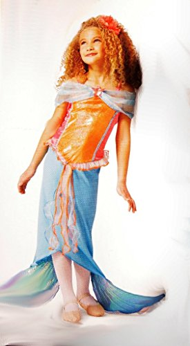 (Girls Mermaid Costume Large)