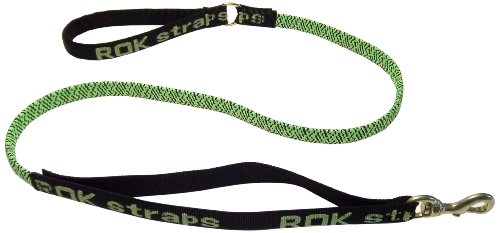 ROK Straps Medium Leash, Green and Black, My Pet Supplies