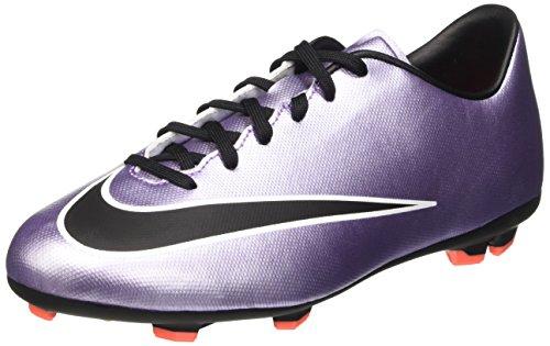 Nike Jr Mercurial Victory V FG - Zapatillas de Deporte, Niñas Morado / Negro / Amarillo / Blanco (Urbn Lilac / Blk-Brght Mng-White)