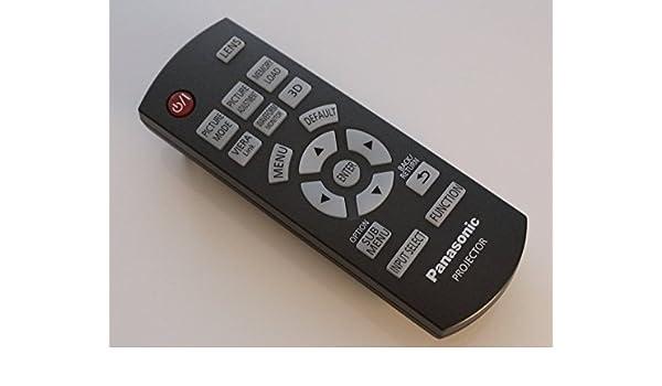 Panasonic N2QAYB000680 mando a distancia para PT-AT5000 proyector ...