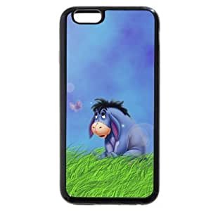 Diy Black Soft pc(Hard shell) Disney Winnie the Pooh Eeyore Case, Only fit For HTC One M7 Case Cover