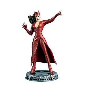 41KTv 32%2BIL. SS300 Eaglemoss Publications Marvel Chess Figurine Collection Magazine #29 Scarlet Witch White