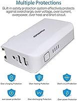 Amazon.com: Cargador de pared POWERIVER 5000 mA universal ...