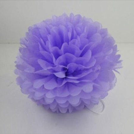 CITY 10Pcs Pompoms Tissue Paper Flowers Decoration for Wedding Birthday Party for $<!--$5.25-->