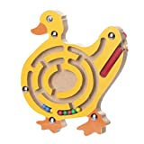 Fulltime Wooden Game Toys Intellectual Jigsaw Board Magnetic Toys for Kids (D)