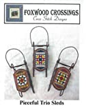img - for Pieceful Trio Cross Stitch Chart and Free Embellishment book / textbook / text book