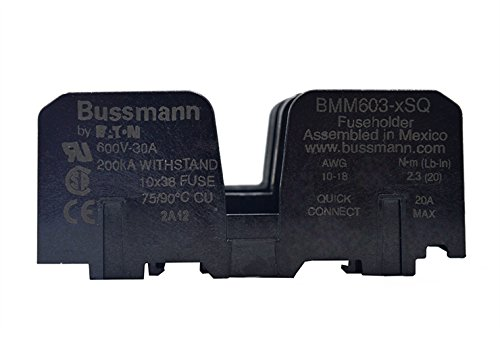 Cooper Bussmann BM6033SQ WAS 2811 Buss Fuse Block by Cooper Bussmann