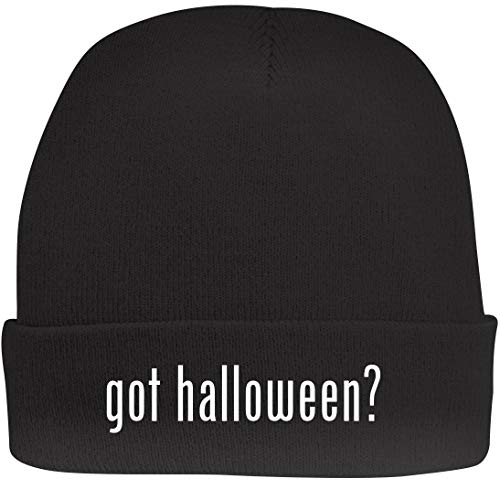 Shirt Me Up got Halloween? - A Nice Beanie Cap, Black, OSFA ()
