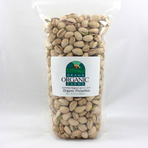 - Braga Organic Farms Inshell Pistachios, Raw, 2 Pound