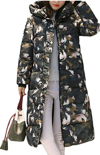 Hooded Long Coat Padded Collar Thicken Warm TTYLLMAO Winter Jackets 5 Women's Coat TI8z8pqv