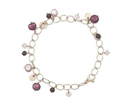 Or 9ct Rouge/rose Serenity 2019,1cm/19cm Bracelet