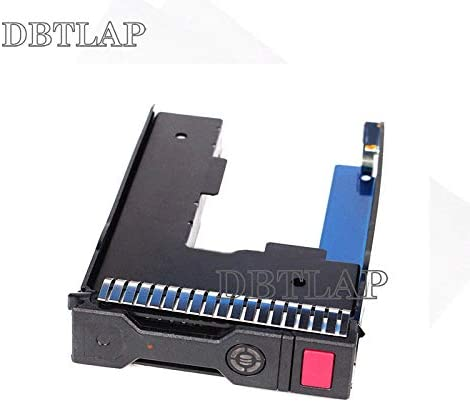 DBTLAP Compatible for HP 651320-001 3.5 SAS HDD Tray Caddy w// 2.5 Adapter Compatible for ML350p DL380e SL230s