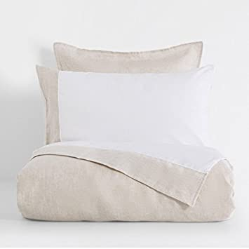 Zara Home Pure 100 Leinen Bettwäsche Single Bettbezug Natur Amazon