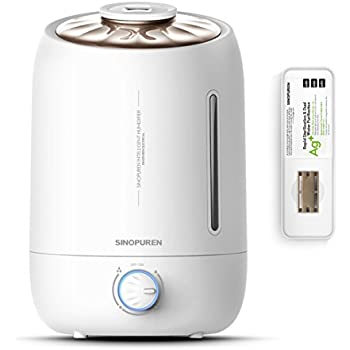 Ultrasonic Cool Mist Humidifier Sinopuren 5l Large Capacity Filter Free Humidifiers
