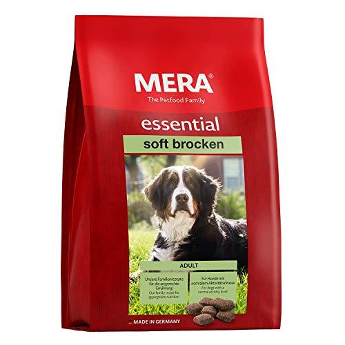 MERA essential Hundefutter > Soft Brocken < Halbfeuchtes Trockenfutter für ausgewachsene Hunde mit normalem…