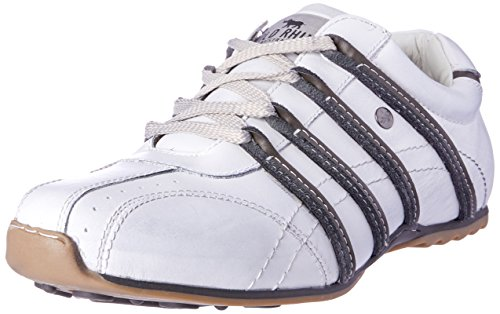 Wild Rhino Men Kaka Trainers Shoes White (White)
