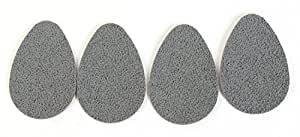 3 Pair Sure Walker Slip Resistant Shoe Sole Pads Self Adhesive