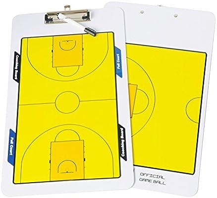 Navadeal pizarra borrable de doble cara para entrenar baloncesto ...
