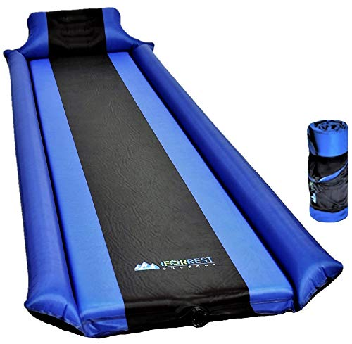 IFORREST Sleeping Pad with Armrest & Pillow –...