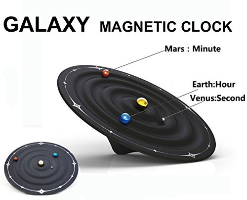 Besplore Galaxy Magnetic Clock,Wall Clock,Desktop - My Number Order Track With Order