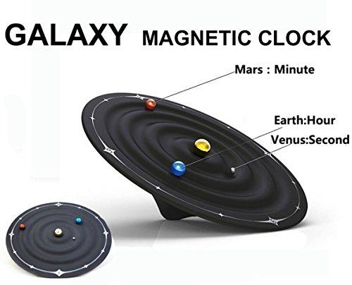 Besplore Galaxy Magnetic Clock,Wall Clock,Desktop - Track By Order Number My Order