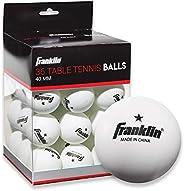 Franklin Sports 1 Star Table Tennis Balls, 36 Pack, 40 mm