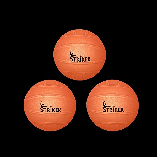 [Striker Glow in the Dark Ball Set | Includes (3) Competition Glow Balls, Hand Pump, & Needle | Spike, Strike, and Slam All Day /] (Jigsaw Costume Face Paint)