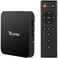 BJourneys TX5 PRO Android 6.0 TV Box Amlogic S905X Quad Core 64bit 2GB / 16GB UHD 4K H.265 2.4G & 5G Wi-Fi Bluetooth 4.0 with(BACKLIT REMOTE) Wireless Touchpad Keyboard