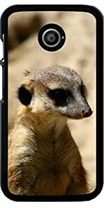 Funda para Motorola Moto E (Generation 1) - Suricata by WonderfulDreamPicture