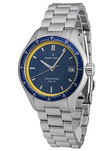 Claude Bernard Ladies-Wristwatch Aquarider Date Analog Quartz 70168 3BM BUJ