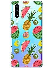 Oihxse Funda Huawei P9 Lite 2017, Ultra Delgado Transparente TPU Silicona Case Suave Claro Elegante Creativa Patrón Bumper Carcasa Anti-Arañazos Anti-Choque Protección Caso Cover (A4)