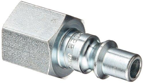 "Eaton Hansen 2609 Steel 210/310 SERIES ARO Interchange, Coupler Plug, 1/4"" Body size x 1/4"" NPT Female"