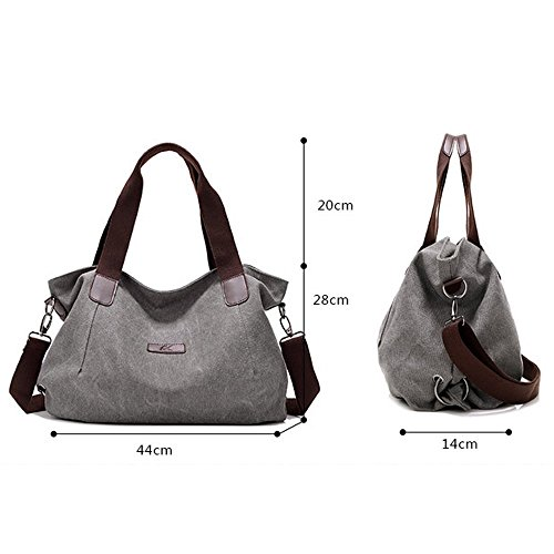 Women brown Messenger Bag Bags Canvas Shouder Cross Handbag 848 Casual Body Girl's Bag Bag Canvas Bucket Nameblue Bag Hobo Vintage HwP6nY1dd