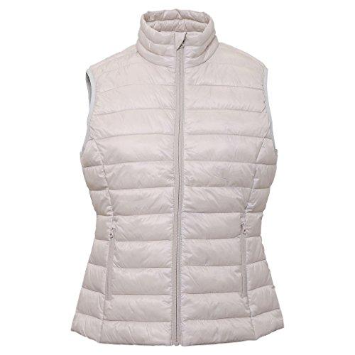 chaqueta blanca mujer de mujer Chaleco para de 2786 campo 000 ostra acolchado x6OZqWwY