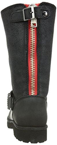 Boots Black723 126295 Nubukleder Women Snow Schwarz Buffalo qnOTvwST