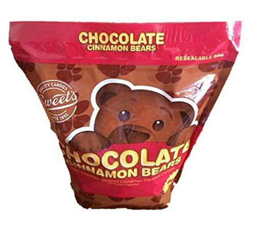 Sweets Real Chocolate Covered Cinnamon Bears (42 oz Bag)