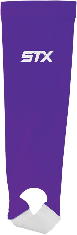 STX Field Hockey Shin Guard Sleeve, Purple, One Size : Sports & Outdoors