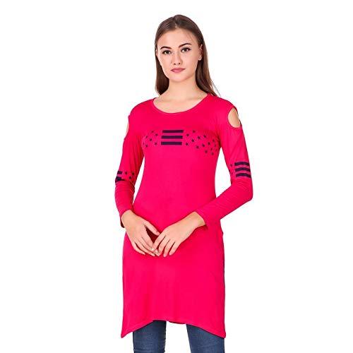 Buy Kiba Retail Women'S Rani Pink Tops at Amazon.in