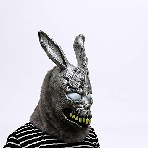 DeemoShop Animal Cartoon Rabbit mask Donnie Darko Frank The Bunny Costume Cosplay Halloween Party Maks Supplies