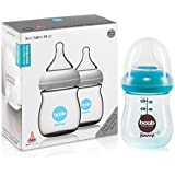 Joovy Boob PP Baby Bottle, Turquoise, 5 Ounce, 2 Count