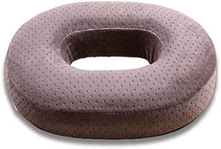 YJDTUJ Portable Orthopedic Memory Foam Pad Donuts Relieve Acne Tail Bone Pain Wheelchair Car Office Outdoor (Color : 3, Size : Length 40 Width 33 Height 7)