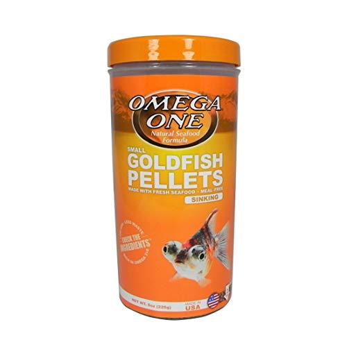 OMEGA One Goldfish Pellet Small 8oz