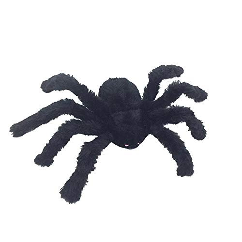 Party Diy Decorations - Halloween Decorative Simulation Spiders Red Black Plastic Fake Spider Toys Funny Joke Prank - Fancy Small Funny Z1 Clean Plug Car Xbox Spider (Clean Halloween Pranks)