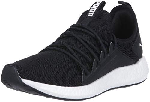 (PUMA Women's NRGY Neko Sneaker, Black White, 11 M US)