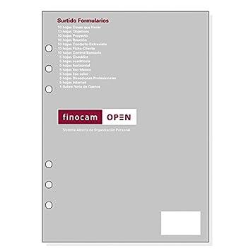 Recambio Agenda FINOCAM Open, R1010.2 Surtido Formularios